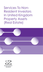 Services To Non-Resident Investors In United Kingdom Property Assets (Real Estate)