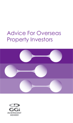 Advice For Overseas Property Investors